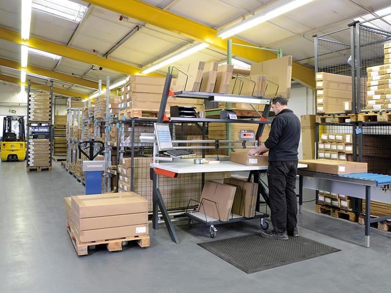 Betrieb verpackung und versand np industrie for Einrichtung katalog